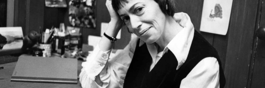 Author Ursula Le Guin is seen in a 1972 photo. Le Guin, the award-winning science fiction and fantasy writer who explored feminist themes and was best known for her Earthsea books, died peacefully Monday, Jan. 22, 2018, in Portland, Oregon, according to a brief family statement posted to her verified Twitter account. She was 88. (The Oregonian via AP)